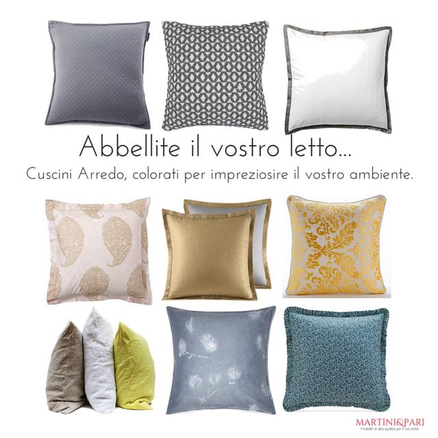 Cuscini D Arredo Letto.Cuscini Decorativi Come Disporre I Cuscini Sul Letto Martini E Pari