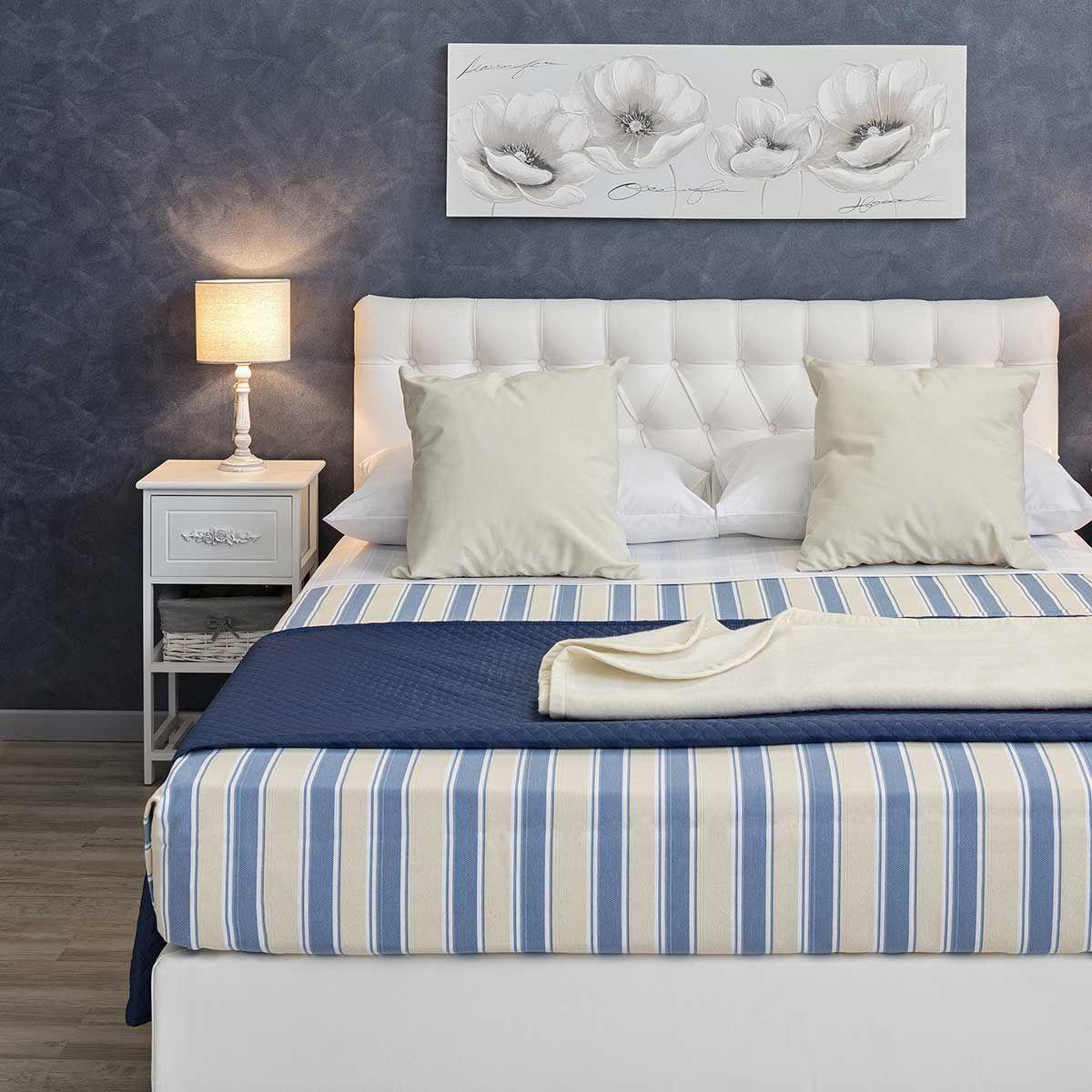 Camera Hotel in stile Mediterraneo: utili consigli per vestire il letto