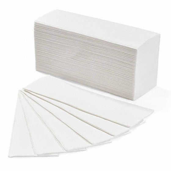 Asciugamani di Carta Monouso Piegati a Z (20 Confezioni da 200 fogli)