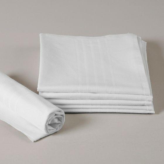 Asciugamano Viso Cotone crespo Bianco cm 55 X 95