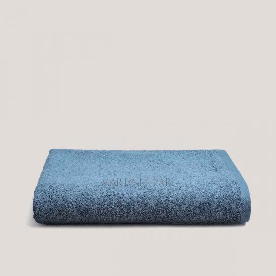 CHARME Asciugamano 100 x 150 Telo Bagno Spugna 400 gr Blu Zaffiro