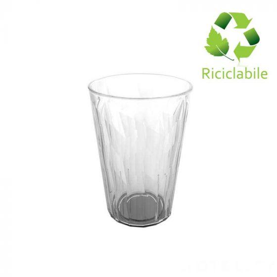 Bicchiere Granity Ice San, Riciclabile, Infrangibile, Trasparente 420 cc ( Confezione 75 pz )