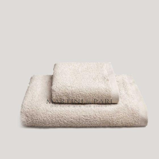 CHARME Asciugamani Viso+Ospite 410 gr Sabbia