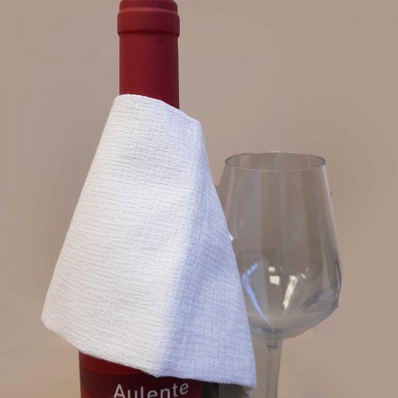 Frangino Sommelier Vino Antigoccia Cotone Fiammato 34 x 34
