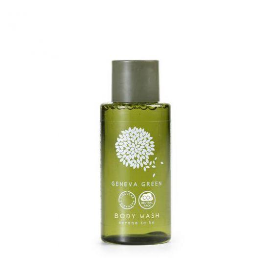 Gel Doccia Flacone 30 ml Geneva Green  (Box 300 pz )