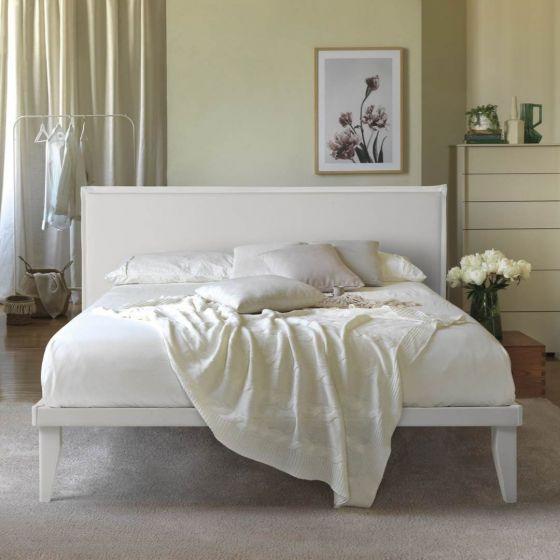 Letto Sommier Singolo Ecopelle completo di Testata 80 x 190 Easy Bed