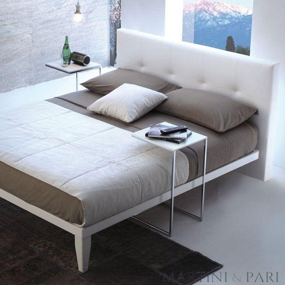 Letto Matrimoniale Moderno con Testiera Capitonnè Imbottita Easy Bed