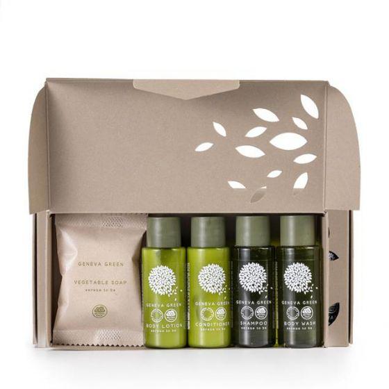 Set Cortesia con Scatola prodotti Misti Geneva Green (Box da 14 set )