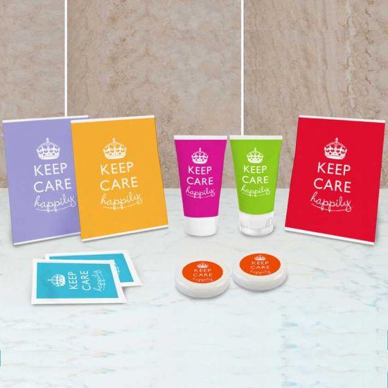 Set Cortesia completo di tutto, Keep Care Collection
