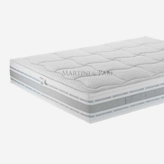 New Line Materasso Memory Lux Alto 26 cm Antibatterico, Sfoderabile