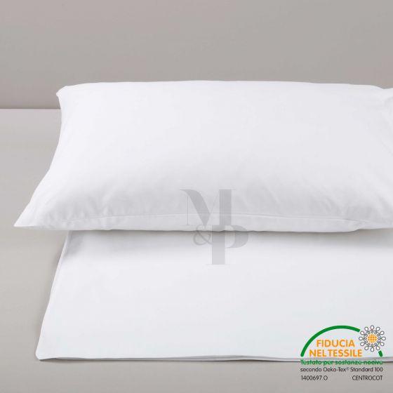 DUBAI Sacco Copripiumino Bianco Spacco 40 cm Extra Size