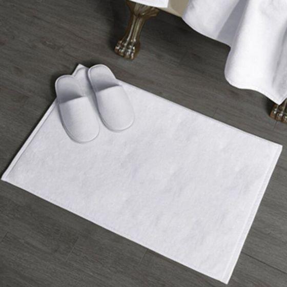 LUX Tappetino Bagno Bianco Spugna 700 gr cm 50 x 75