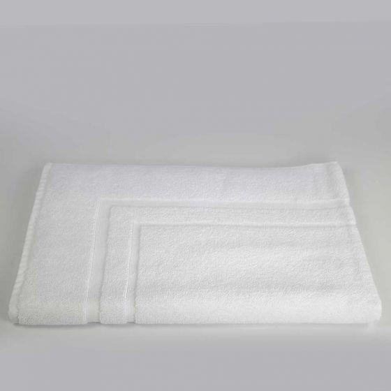 DUBAI Tappetino bagno Bianco Spugna 600 gr 50 x 75
