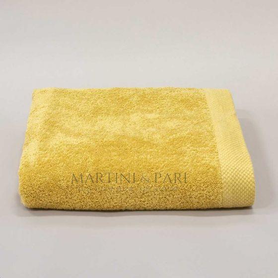 Asciugamano Telo Bagno 92 x 142 Spugna 550 Colore Oro Deluxe