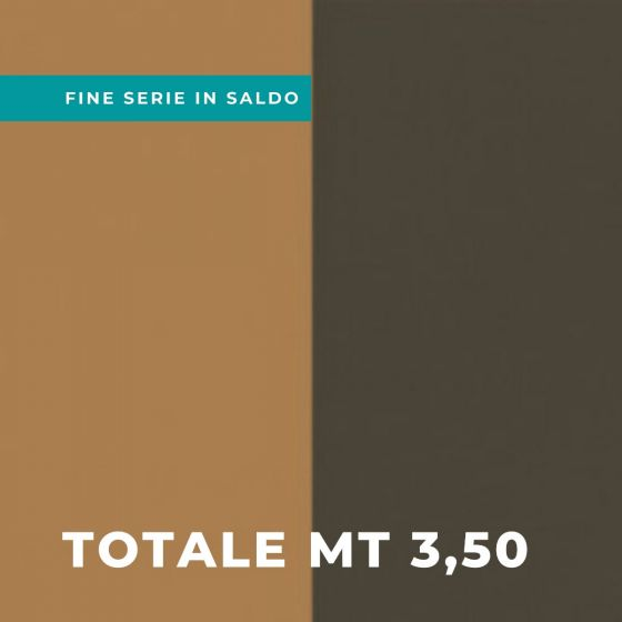 Stock Tessuto Drapilux per Tendaggio 241 Variante 07 H 300 Totale Mt 3,50