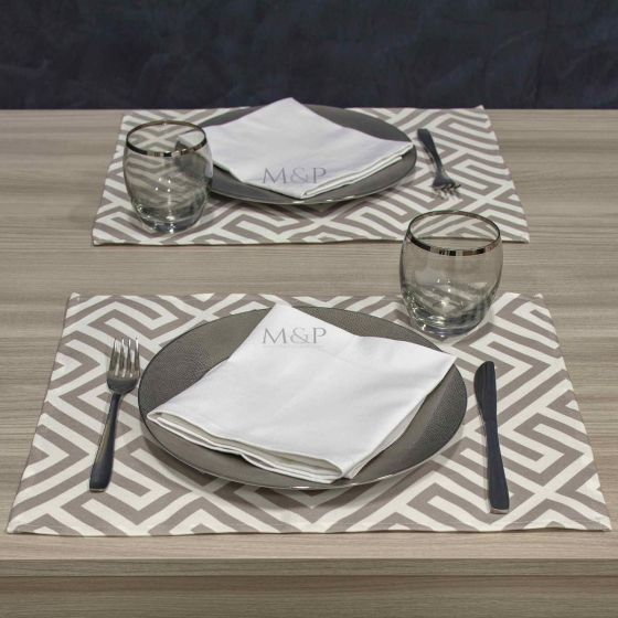 Tovaglietta Americana Antimacchia Teflon per ristorazione 35 x 45 Optical