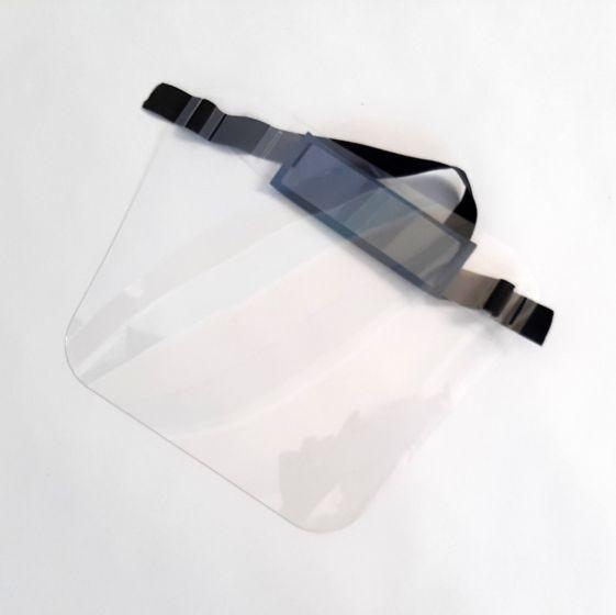 Schermo Facciale PET Ultra Trasparente Leggero Spessore mm 0,5