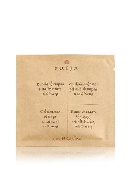 Doccia Shampoo Ginseng Vitalizzante, 13 ml Prija (Conf. 500 pezzi)
