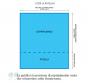 MILLERIGHE Parure Copripiumino (federe incluse) Tela 40/30