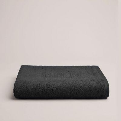 Asciugamano Telo Bagno Doccia Spugna 410 gr Nero Charme