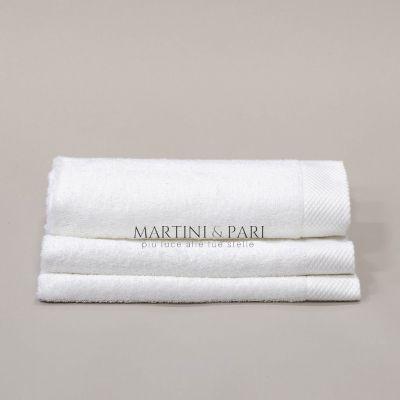 SUPERIOR Asciugamano Ospite 500 gr Bianco 40 x 60