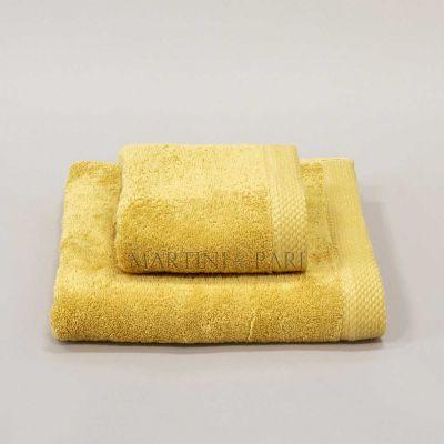 DELUXE Asciugamani Viso + Ospite 550 gr Oro