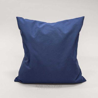 Fodera Cuscino Arredo Ignifugo, blu, Liberty (solo Fodera)