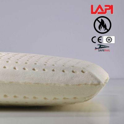 LAPI Cuscino Ignifugo Cl 1 IM, Visco Lattice Supersoft H 12 cm