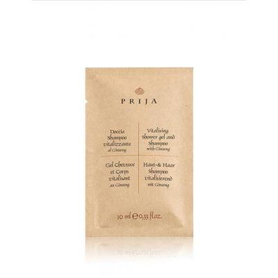 Doccia Shampo Prija 10 ml Ginseng (Conf. da 600 pezzi)