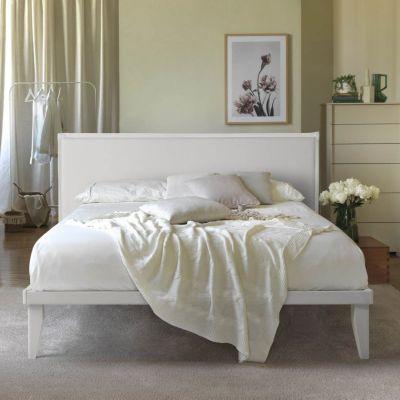 Letto Sommier Matrimoniale Ecopelle completo di Testata 160 x 190 Easy Bed