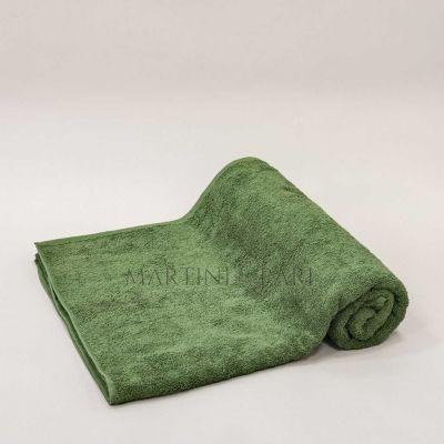 Telo Mare Piscina Spugna 95 x 180 Verde Garden - 400 gr/mq