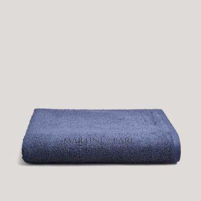 Asciugamano Telo bagno Doccia 410 gr Blu Navy Charme 140 x 100