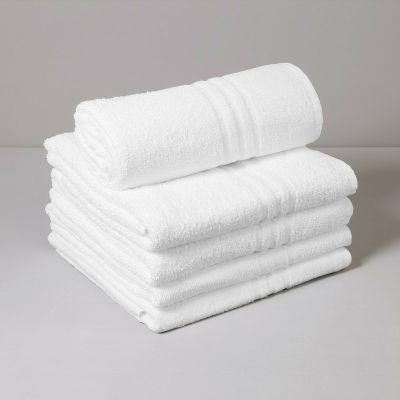 BASIC Telo Sauna Spugna 360 gr Bianco 70 x 140