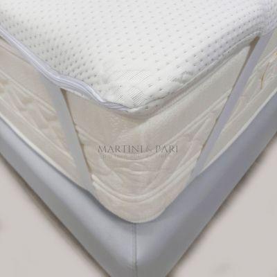 Topper Memory Foam Silver Fresh Sfoderabile Lavabile H 5 cm