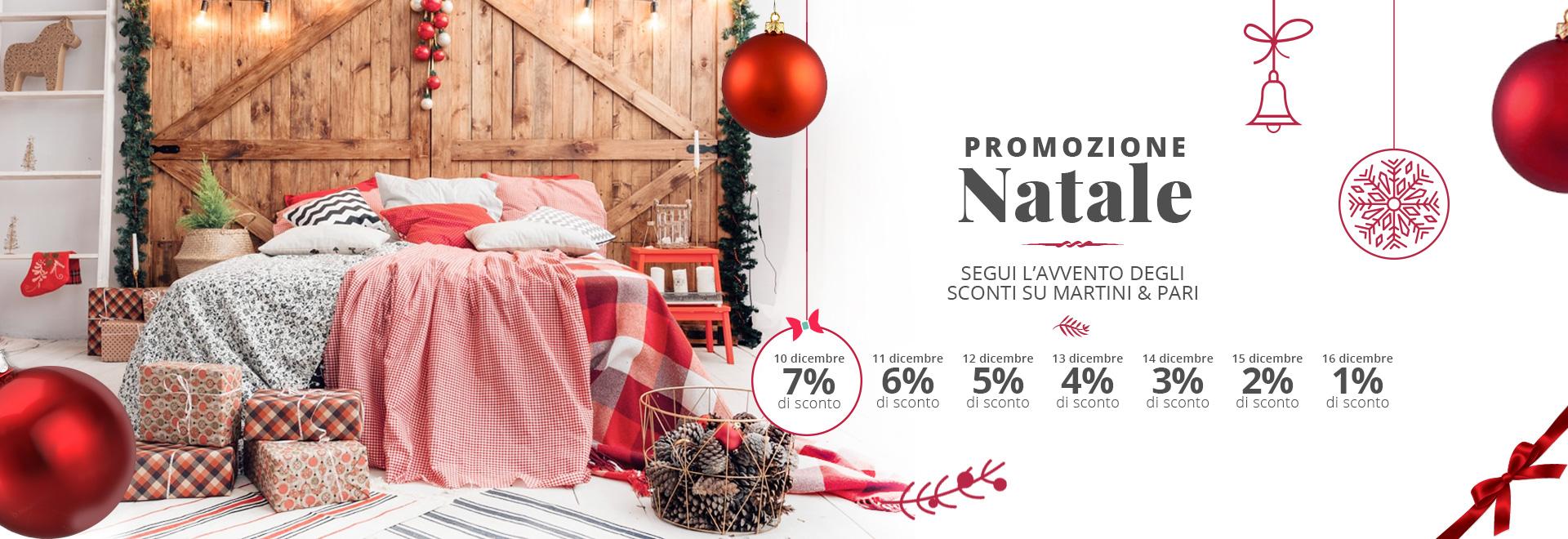 Promozione di Natale e calendario avvento Martiniepari