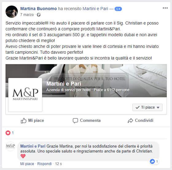 recensioni martiniepari facebook